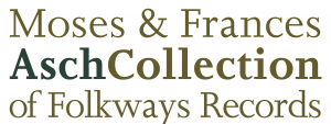 Moses & Frances Asch Collection - Logo V.1