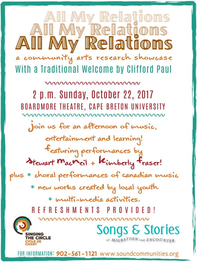 All My Relations - Social Graphic
